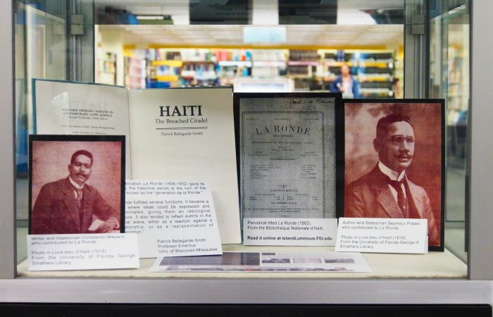 Graduate student creates online history exhibit of Haiti