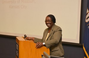 University of Missouri, Kansas City Professor Etta R. Hollins was the guest speaker at the recent College of Education Dean's Speakers Series event.