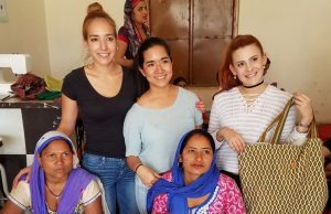 Students partner with Indian women, create craft business