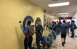 Miami Edison Senior High gets a makeover for the holidays