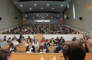 Nearly 400 high school students attended FIU's High School Model UN Conference.