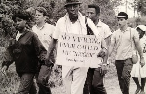 A civil rights activist in Mississippi