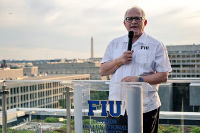 """President Rosenberg emphasizes FIU's role in """"turning the impossible into the inevitable"""" at FIU in D.C."""