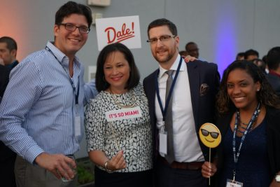 """Alumni and friends celebrate the launch of FIU in D.C. at the """"It's So Miami!"""" reception"""