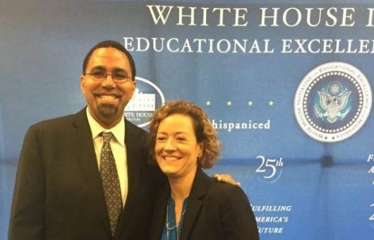 Professors talk teacher diversity, climate change at White House summits