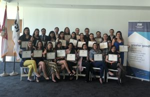 Colombian students visit FIU, learn about changing global health issues