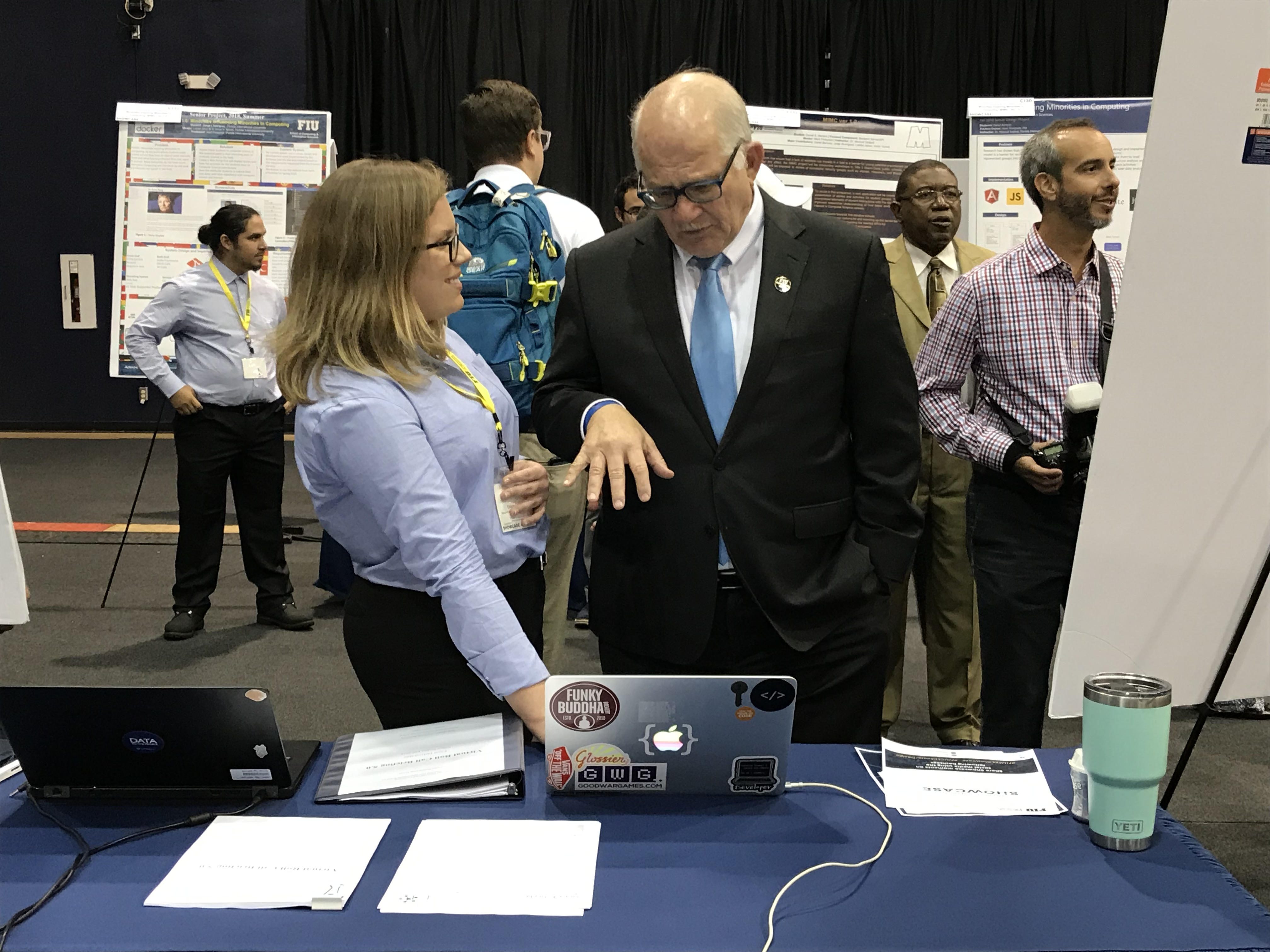 Recruiters scout for talent at Senior Design Showcase