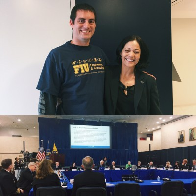 FIU Wertheim College of Medicine's Dr. Aileen Marty participates in PACCARB meeting at the U.S. Dept. of Health and Human Services
