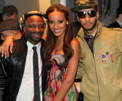 DJ Irie Selita Ebanks Swizz Beatz