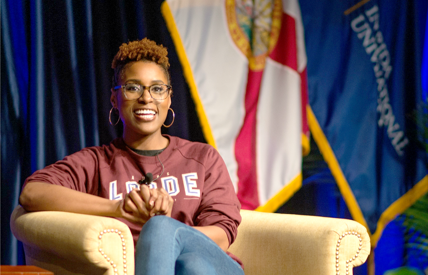 "Issa Rae, creator, co-writer and star of the HBO hit series, ""Insecure,"" was the guest speaker for Black Student Union's Speaker Series, the signature event for Black History Month."