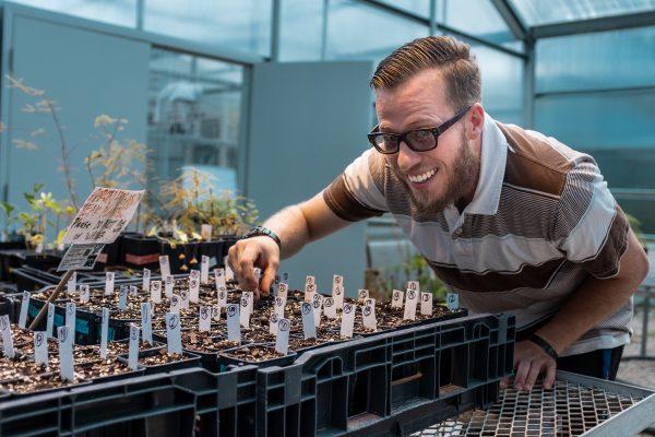 J. Aaron Hogan - Student Spotlight - Tropical Botany