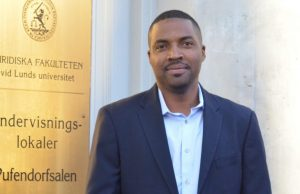 Charles C. Jalloh at Lund University, Sweden