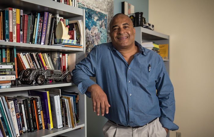 Jean Muteba Rahier, director of the African and African Diaspora Studies Program and professor of anthropology in the Department of Global and Sociocultural Studies.