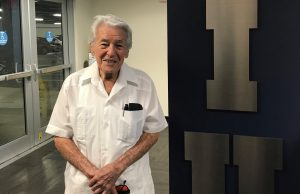 Jose Gracia, 92-year-old engineering instructor.