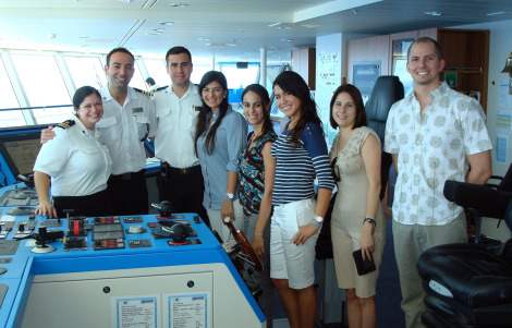 In The Media FIU Grad Students Work With Celebrity Cruises