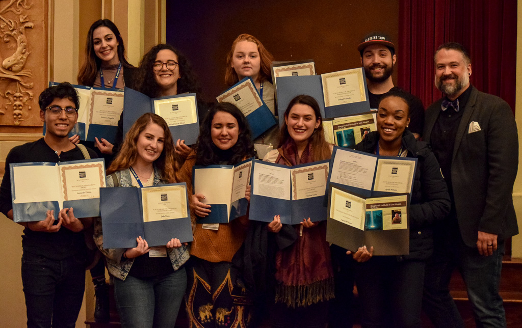 Theatre students shine at the regional Kennedy Center American College Theater Festival