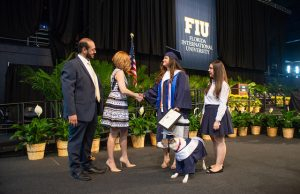 Service dog makes FIU history