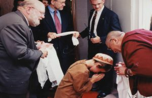 When a boy and the Dalai Lama met