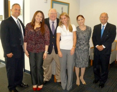 Master of Arts in Global Governance Students with SIPA Executive Director, John Stack (third from left) and FBI representatives.