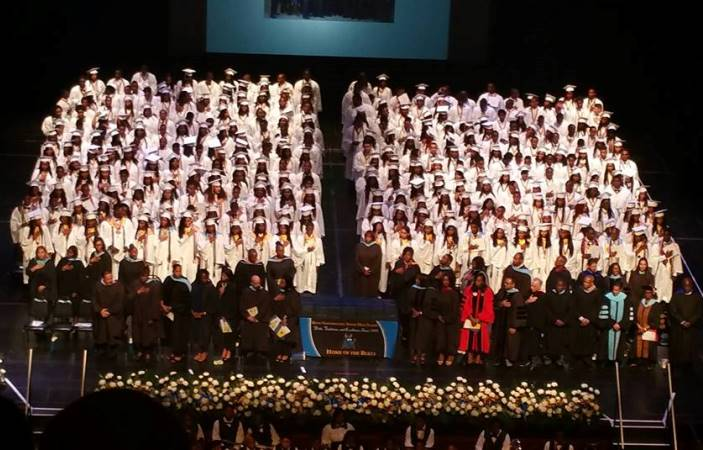 The Class of 2015 at Miami Northwestern Senior High School is the first graduating class to have been part of The Education Effect since their freshman year.