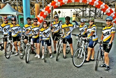 FIU Flyers ride 150 miles for those who can't