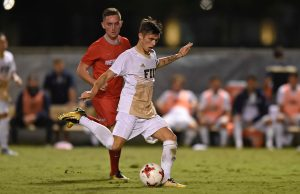 Men's soccer sets sights on conference title after historic season