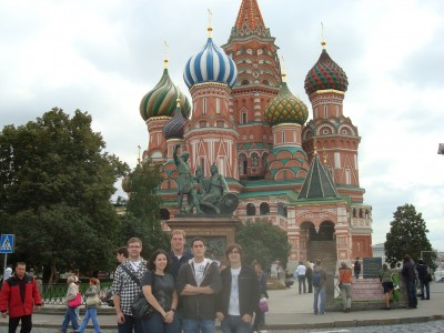 Life in Moscow for FIU math students