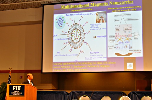 Biomedical engineering faculty present research to industry insiders at FIU-hosted conference