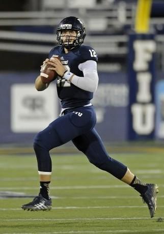 FIU quarterback Alex McGough (12)
