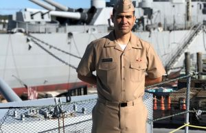 My first job in the Navy! Working in preventative medicine