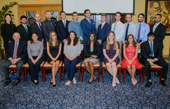 Medical students join prestigious honor society
