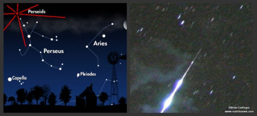 Summer fun: meteor shower to light up sky Aug. 11-12