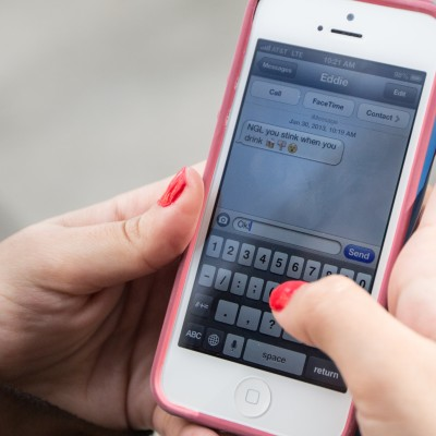 Targeted texts could make teens think twice about drinking.