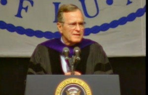 50@50: President George H.W. Bush speaks to graduates at FIU