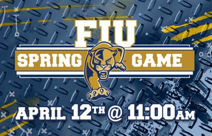 FIU Football hosts 2014 Spring Game at FIU Stadium on April 12