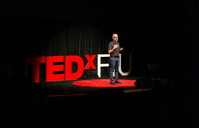 TEDxFIU: Mutant mosquitoes hold key to life-saving perfume