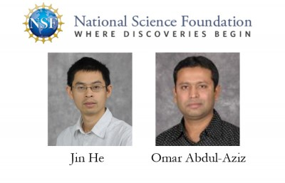 Physics and engineering faculty receive NSF CAREER awards for STEM research