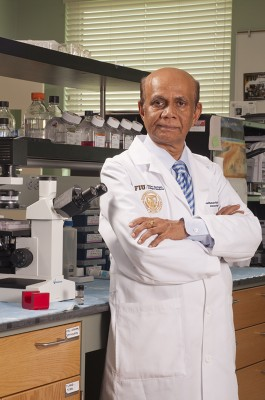 Madhavan Nair, Ph.D. named Distinguished Professor, FIU Herbert Wertheim College of Medicine