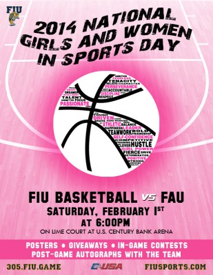 National Women Sports - Flyer Bball