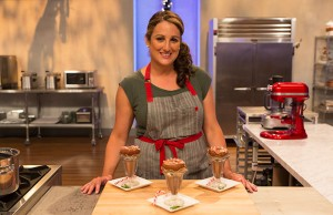 "College of Education alumna Naylet LaRochelle competes on Food Network's ""Holiday Baking Championship."" Photo courtesy of Food Network."