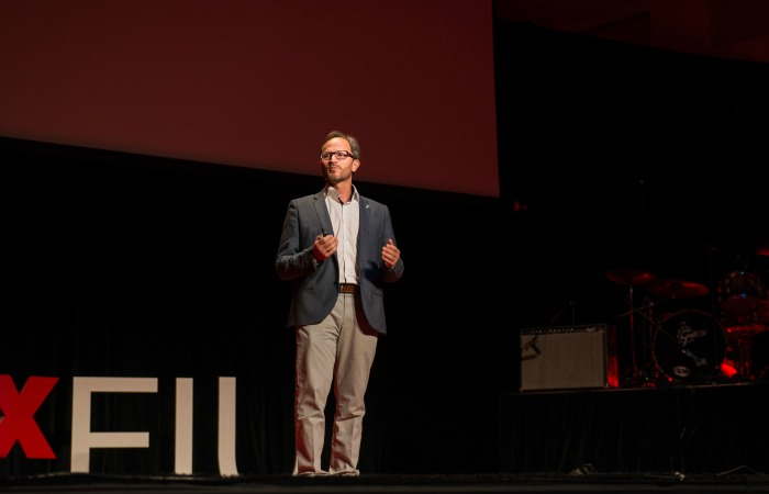 TEDxFIU: Finding purpose and peace