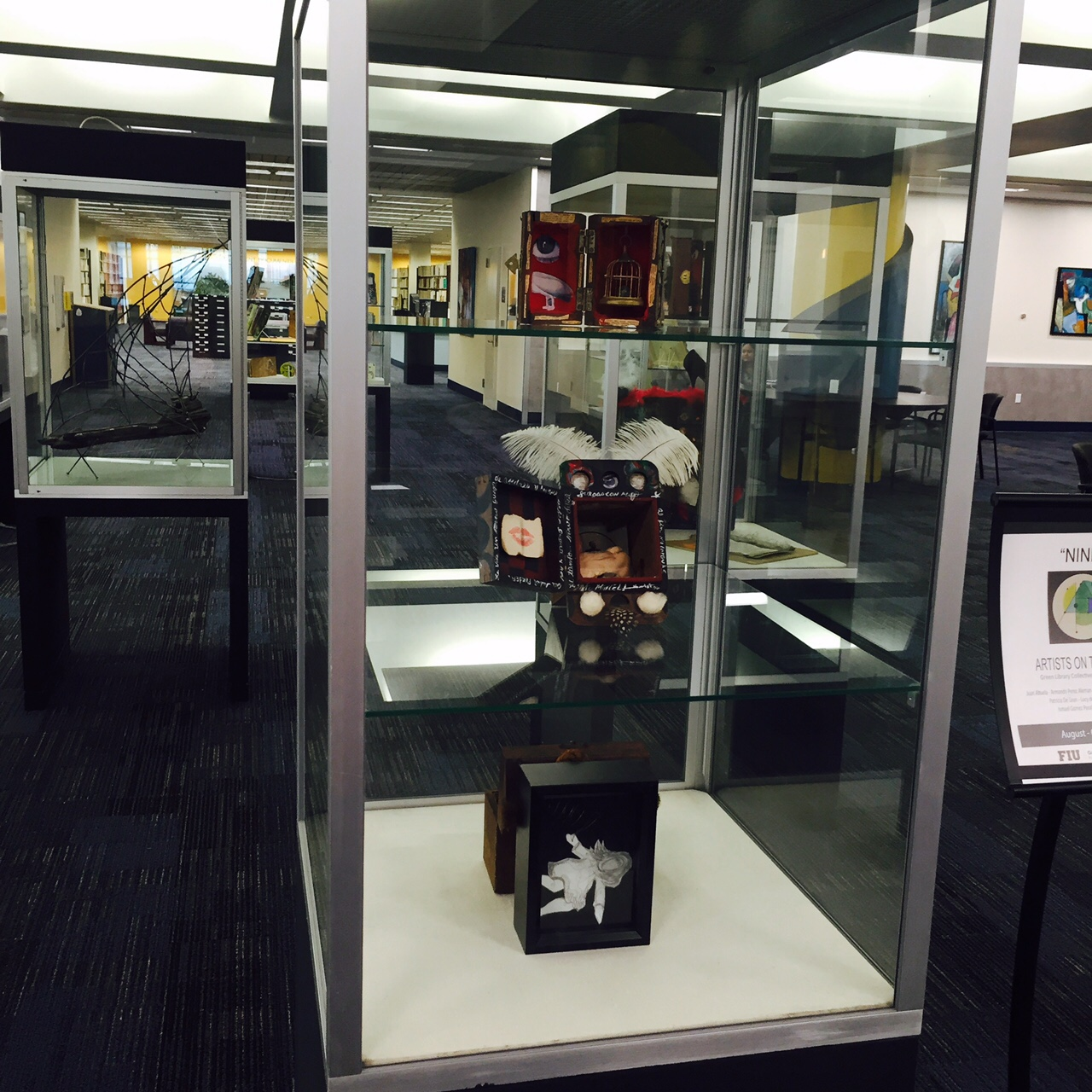Green Library exhibition features local talent