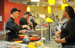 One of MMC's most popular dining destinations is The Fresh Food Company in the Graham Center.