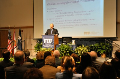 President Rosenberg updates university community, answers questions at open forum