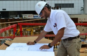 OHL School of Construction student excels in summer internship