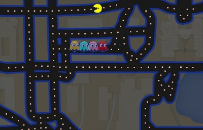 How to play Pac-Man at FIU on Google Maps