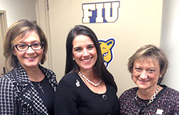 Panther LIFE leaders meet with FIU Alumna, State Senator Anitere Flores
