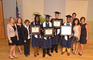 Panther LIFE students graduated from the program Aug. 5.