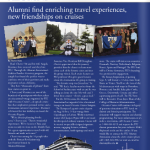 Alumni find enriching travel experiences, new friendships on cruises