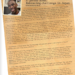 A letter home: Embracing challenge in Japan